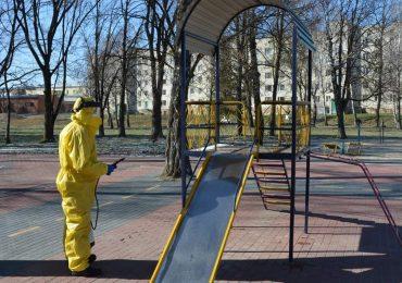 Сьогодні дезінфікують громадські місця