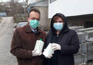 ОСББ Теребовлі отримали засоби для дезінфекції