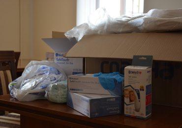 Міська рада продовжує закупляти медичні та захисні засоби
